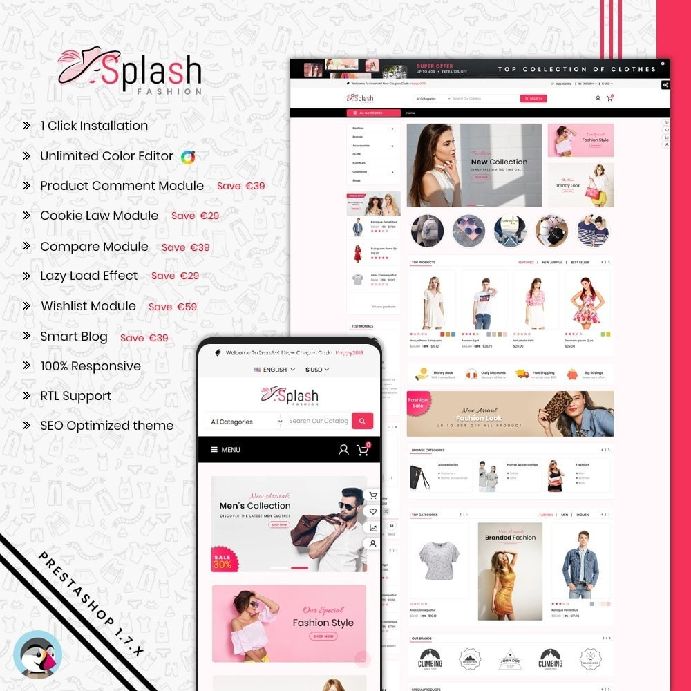 Splash Fashion Store