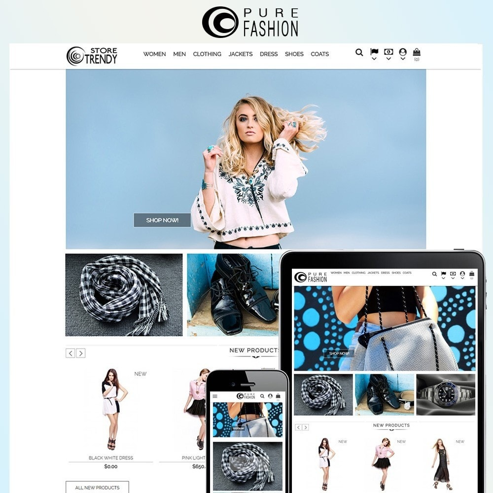 theme - Fashion & Shoes - Fashion Pure Store - 1