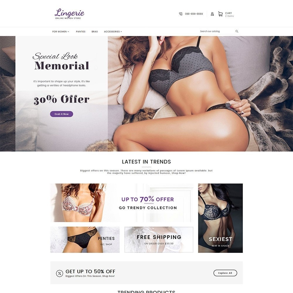 Lingerie Women Shop