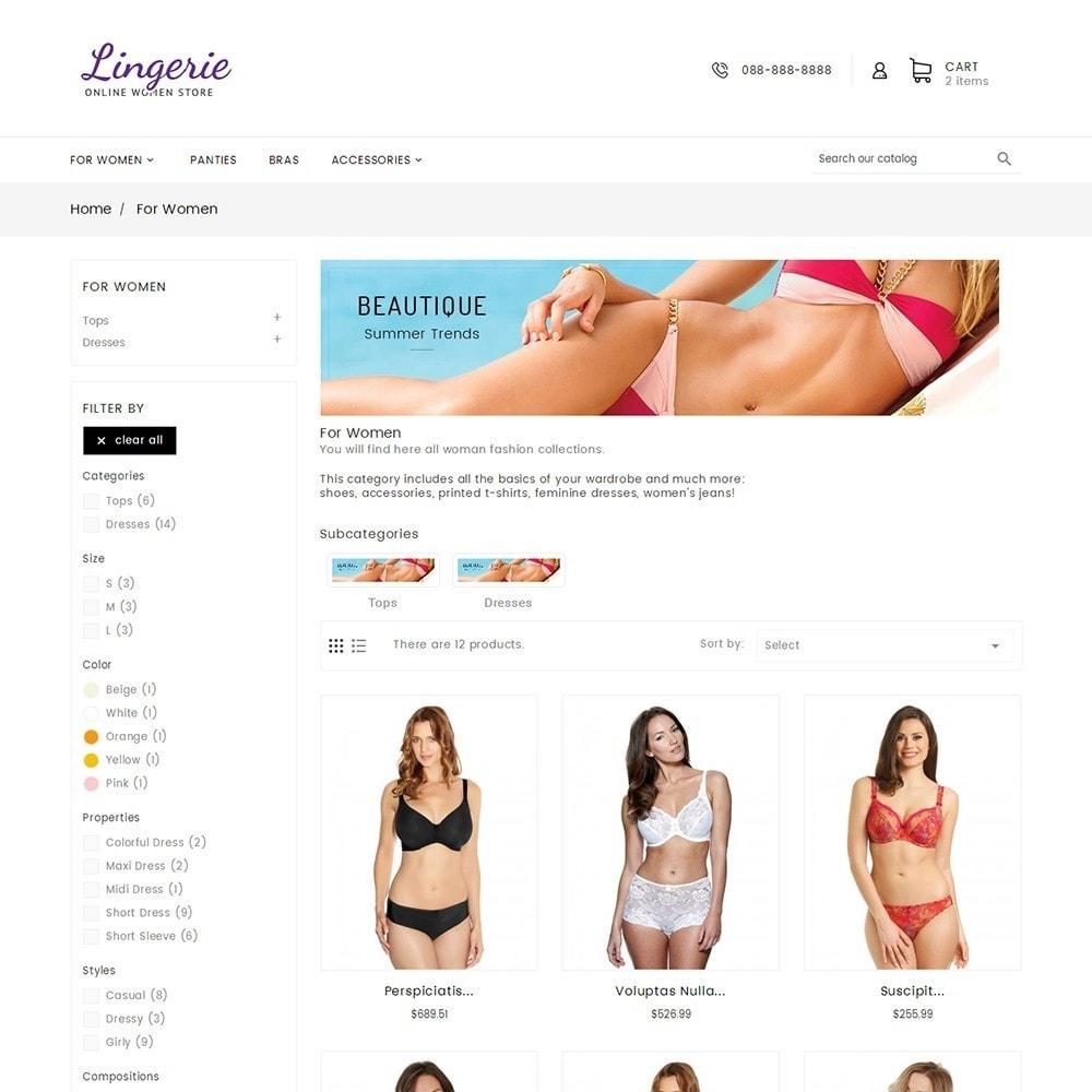 theme - Lingerie & Adult - Lingerie Women Shop - 4