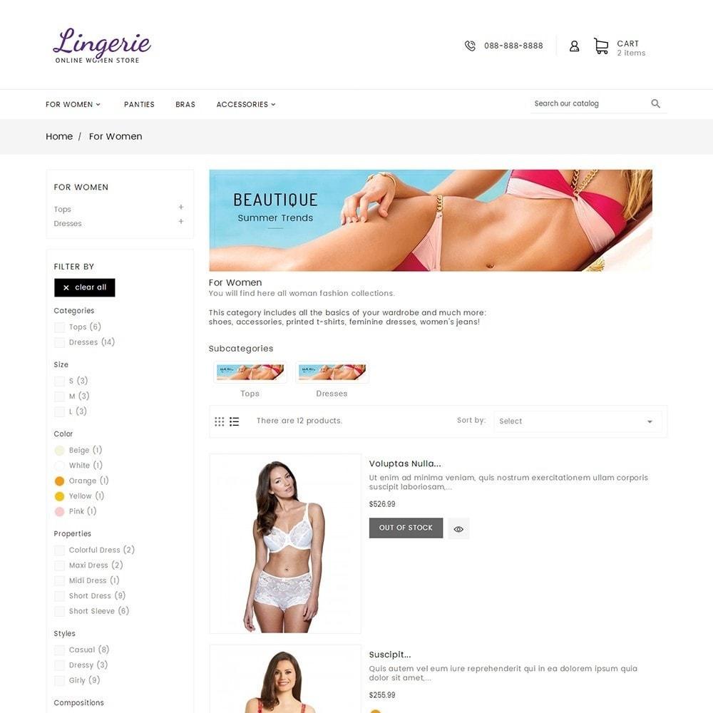 theme - Lingerie & Adult - Lingerie Women Shop - 5