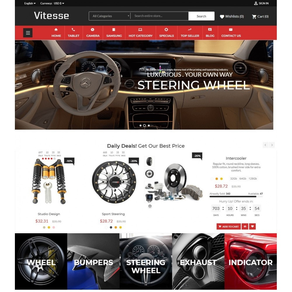 Vitesse Car & Moto Sport Store