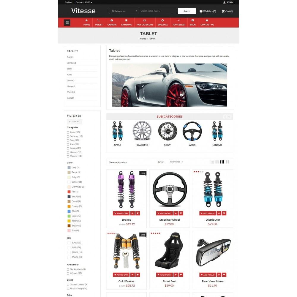 theme - Deportes, Actividades y Viajes - Vitesse Car & Moto Sport Store - 5