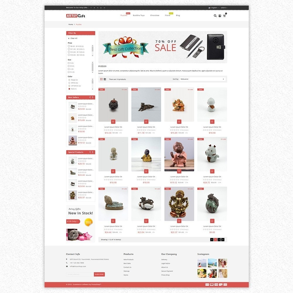 theme - Gifts, Flowers & Celebrations - Gift Store - 4