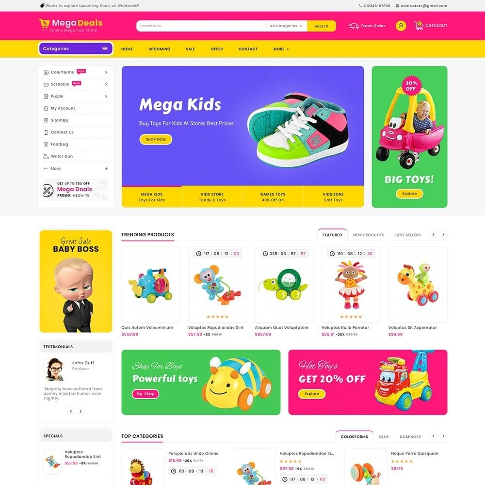 Mega Deals Kid Toys