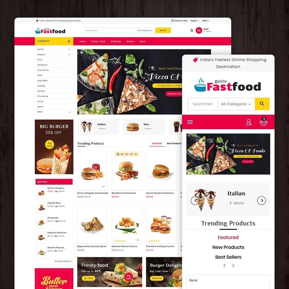 theme - Food & Restaurant - Fast Food Corner - 1