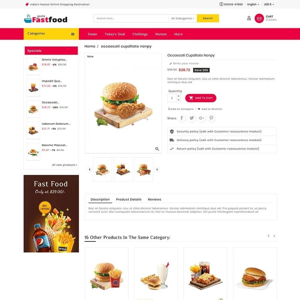 theme - Food & Restaurant - Fast Food Corner - 6