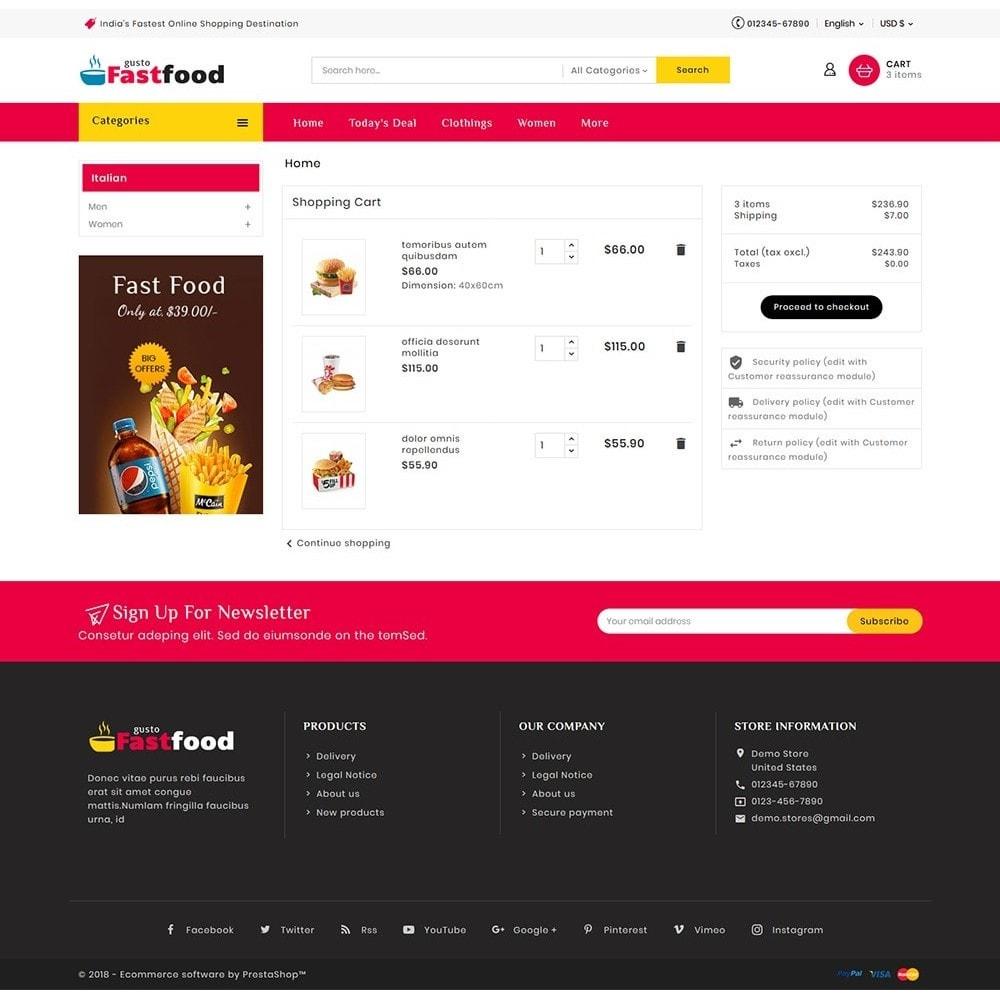 theme - Food & Restaurant - Fast Food Corner - 7