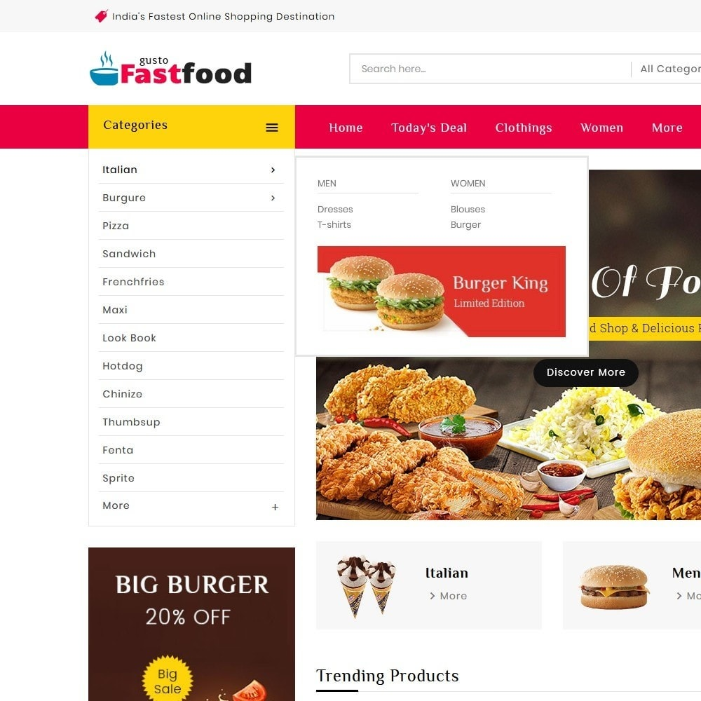 theme - Food & Restaurant - Fast Food Corner - 9