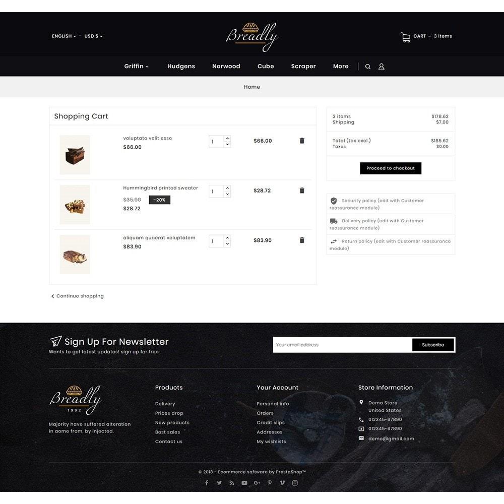 theme - Food & Restaurant - Breadly - Bakery & Cakes - 8
