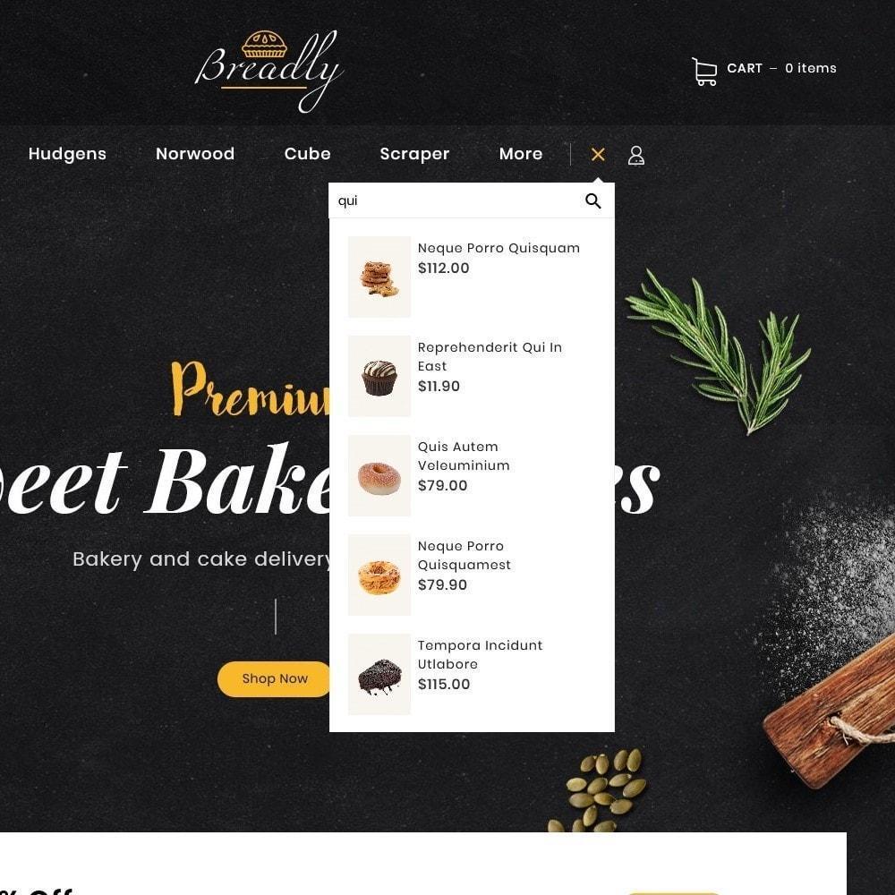 theme - Food & Restaurant - Breadly - Bakery & Cakes - 12