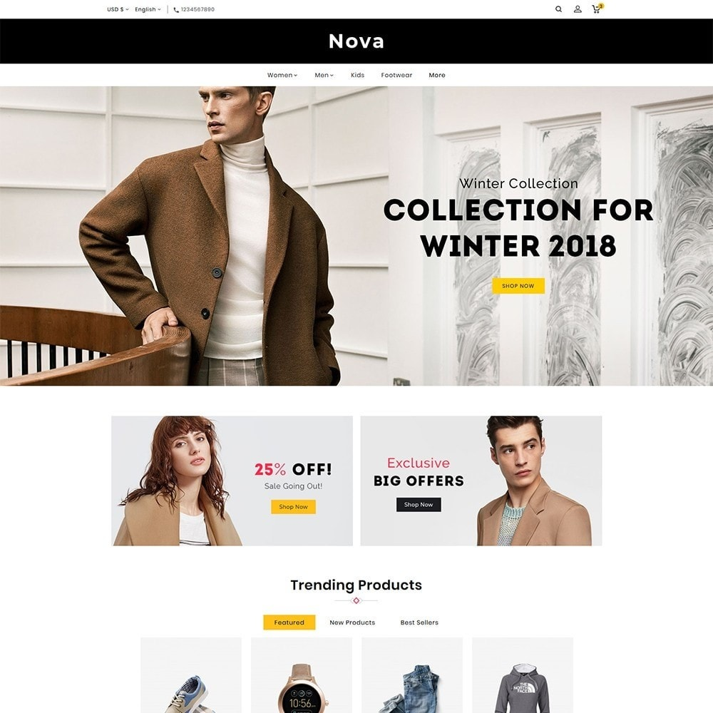Nova - Fashion Style