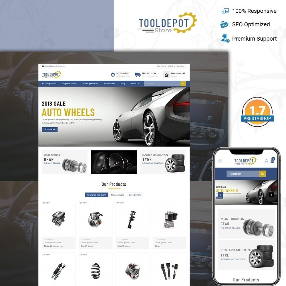 Tooldepot - Tools Store