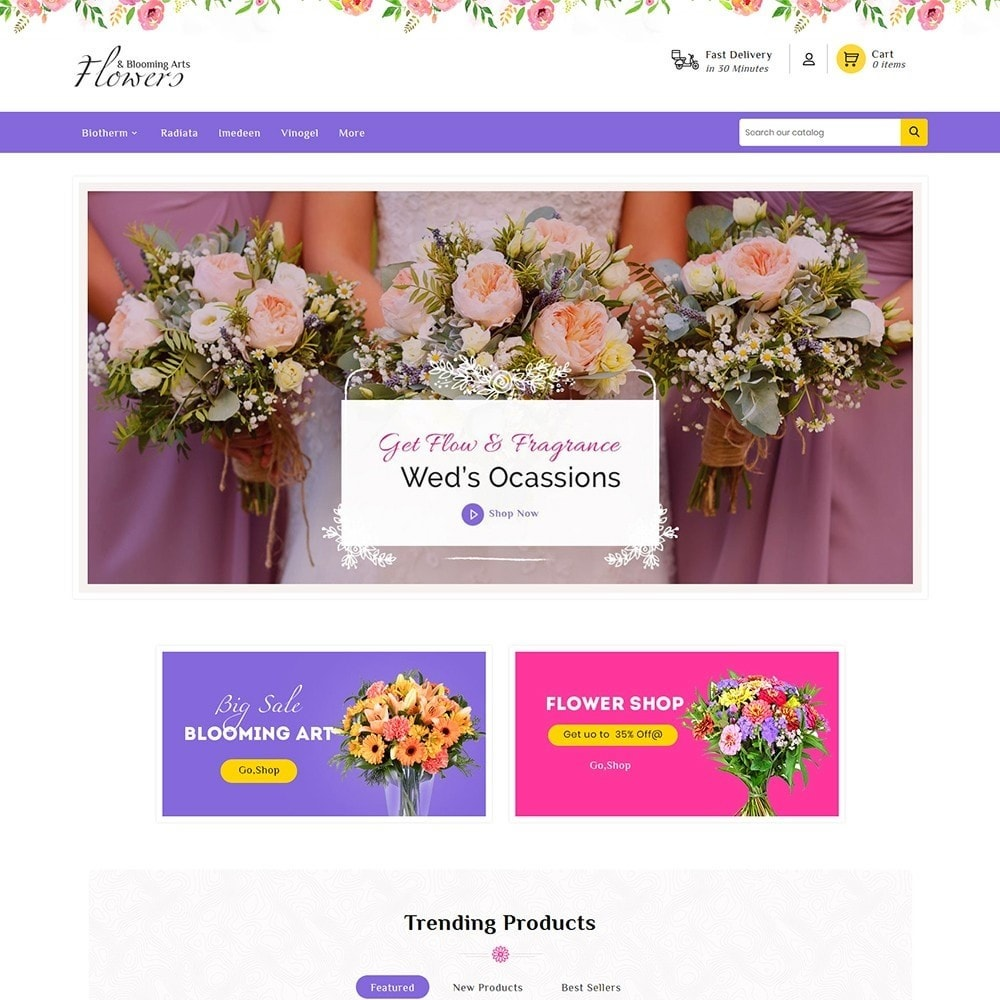 theme - Gifts, Flowers & Celebrations - Flowers & Blooming Arts - 2