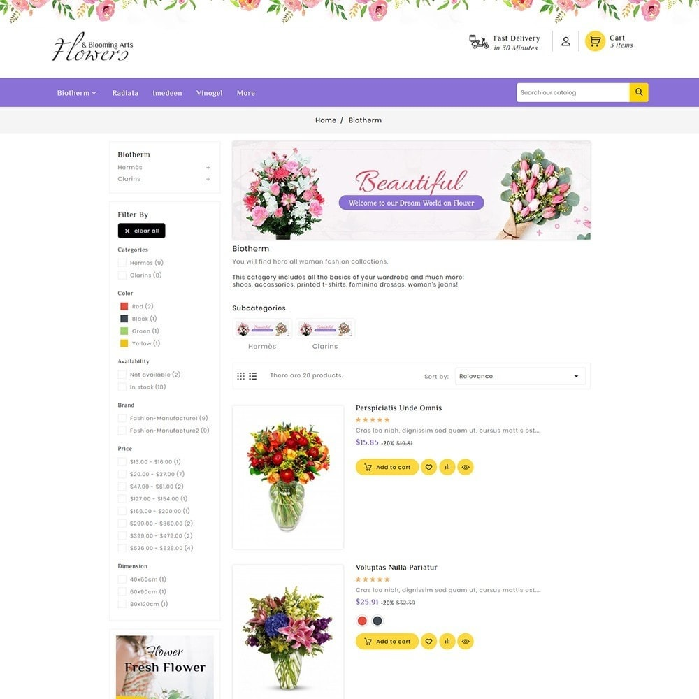 theme - Gifts, Flowers & Celebrations - Flowers & Blooming Arts - 5
