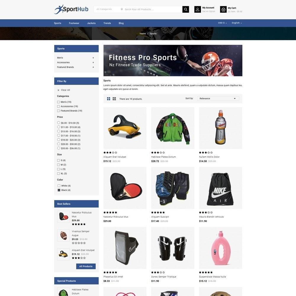 theme - Sports, Activities & Travel - Sport Hub Sports Store - 3