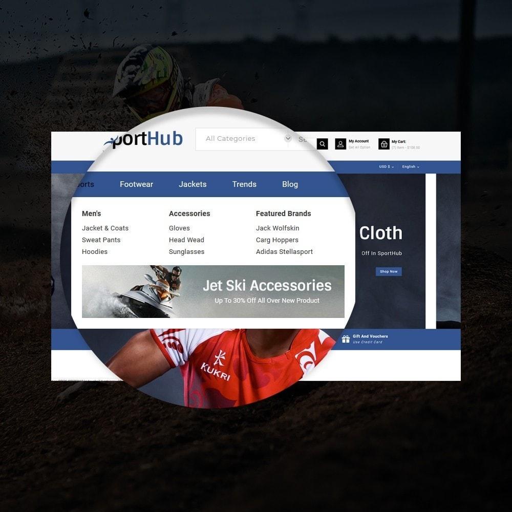 theme - Sports, Activities & Travel - Sport Hub Sports Store - 9