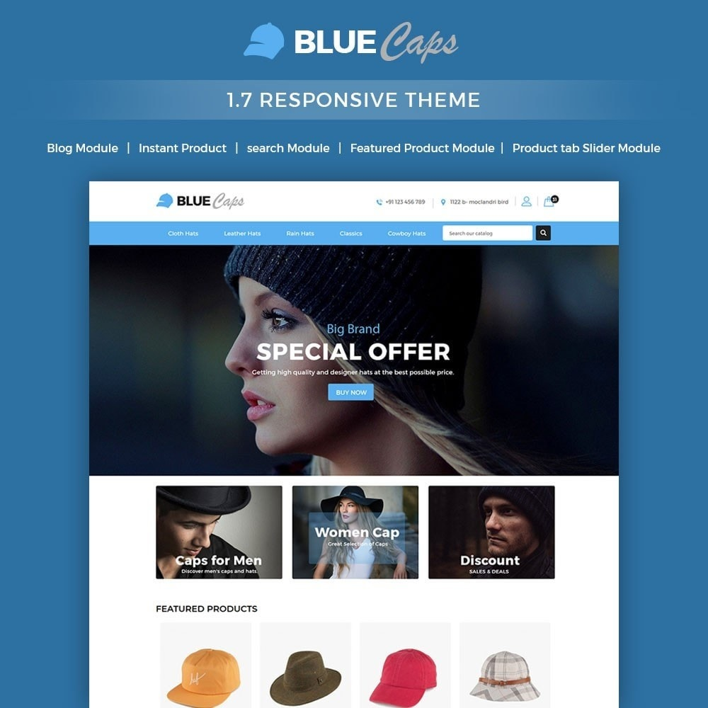 Bluecap Fashion Store