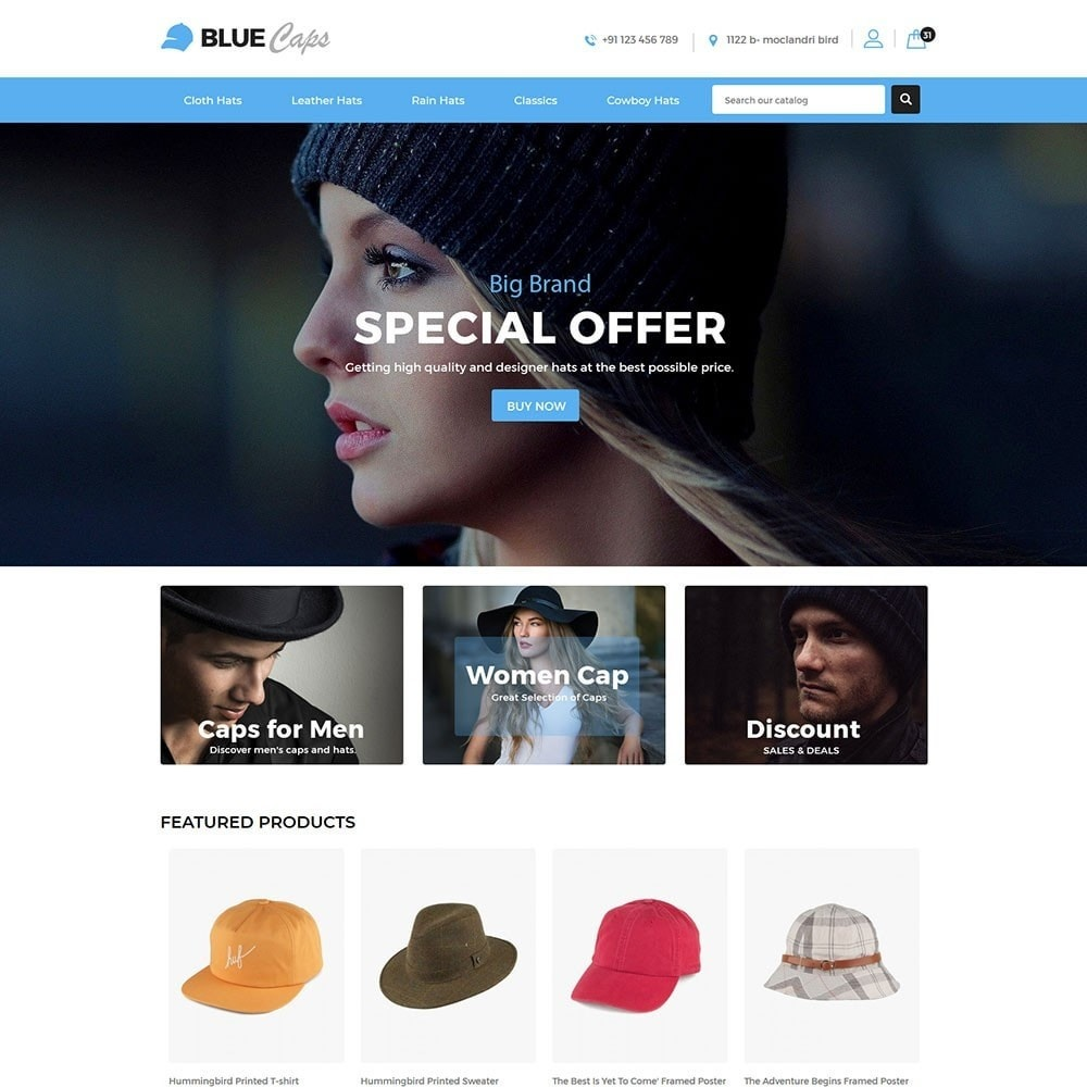 Bluecap Fashion Store