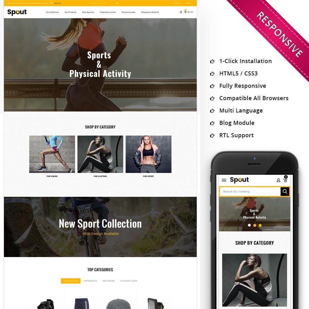 theme - Deportes, Actividades y Viajes - Spout - The Sport Shop - 1