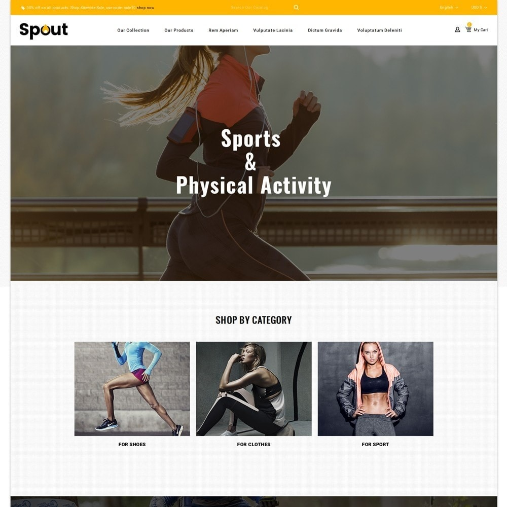 Spout - The Sport Shop