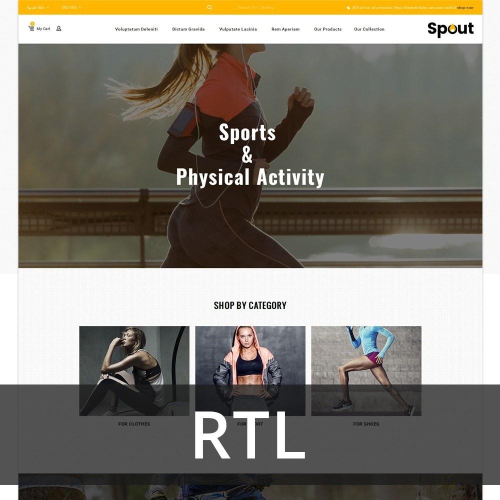 theme - Desporto, Actividades & Viagens - Spout - The Sport Shop - 3