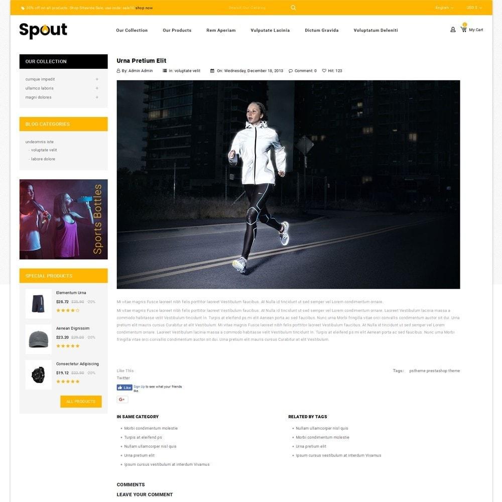 theme - Desporto, Actividades & Viagens - Spout - The Sport Shop - 7