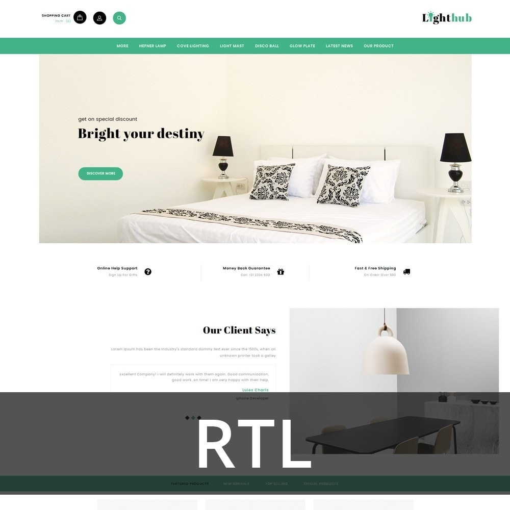 Lighthub - The Home Decor