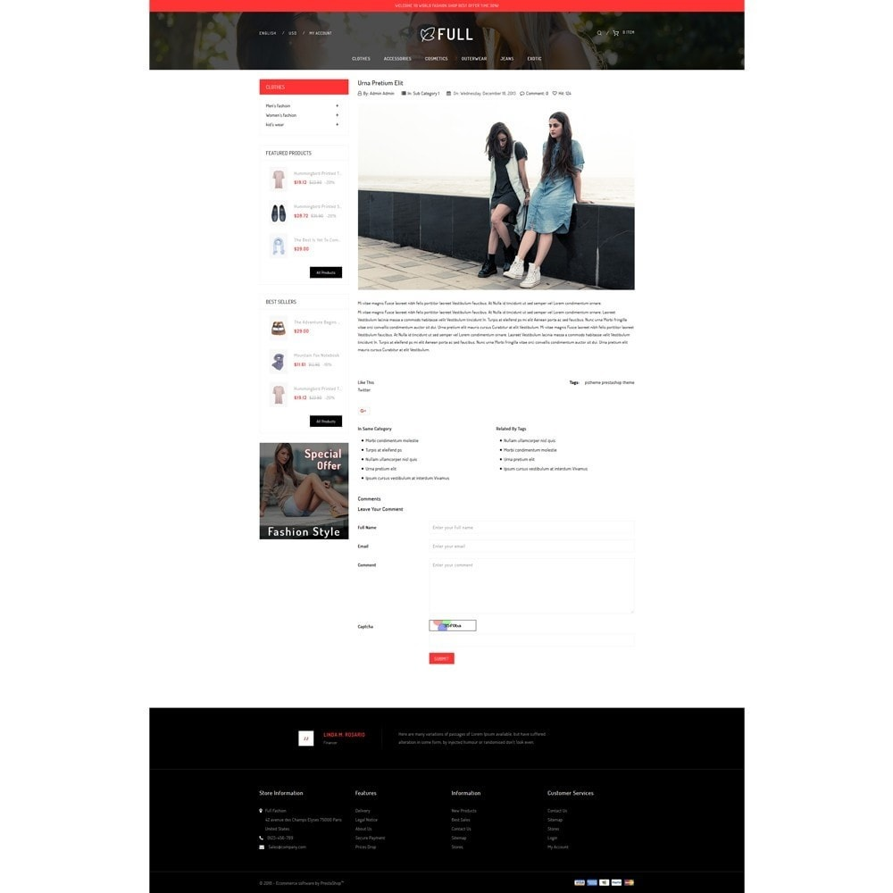theme - Fashion & Shoes - Full Fashion Store - 6