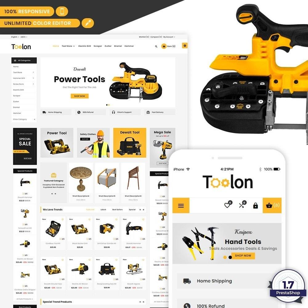 theme - Automotive & Cars - Toolen Mega Tools Super Store - 1