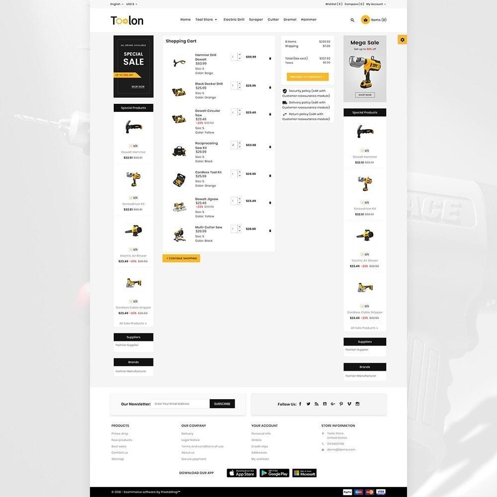 theme - Automotive & Cars - Toolen Mega Tools Super Store - 4