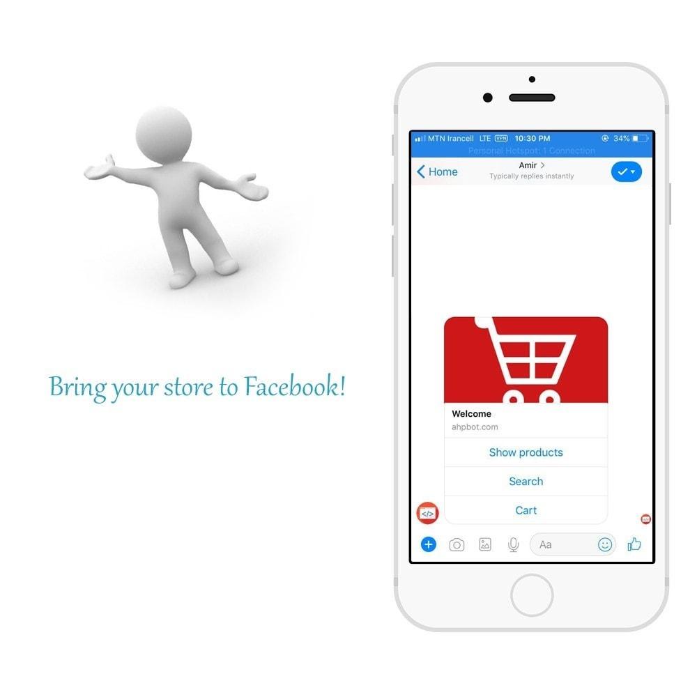 module - Produkte in Facebook & sozialen Netzwerken - Shop for Fan Page and messenger - 3