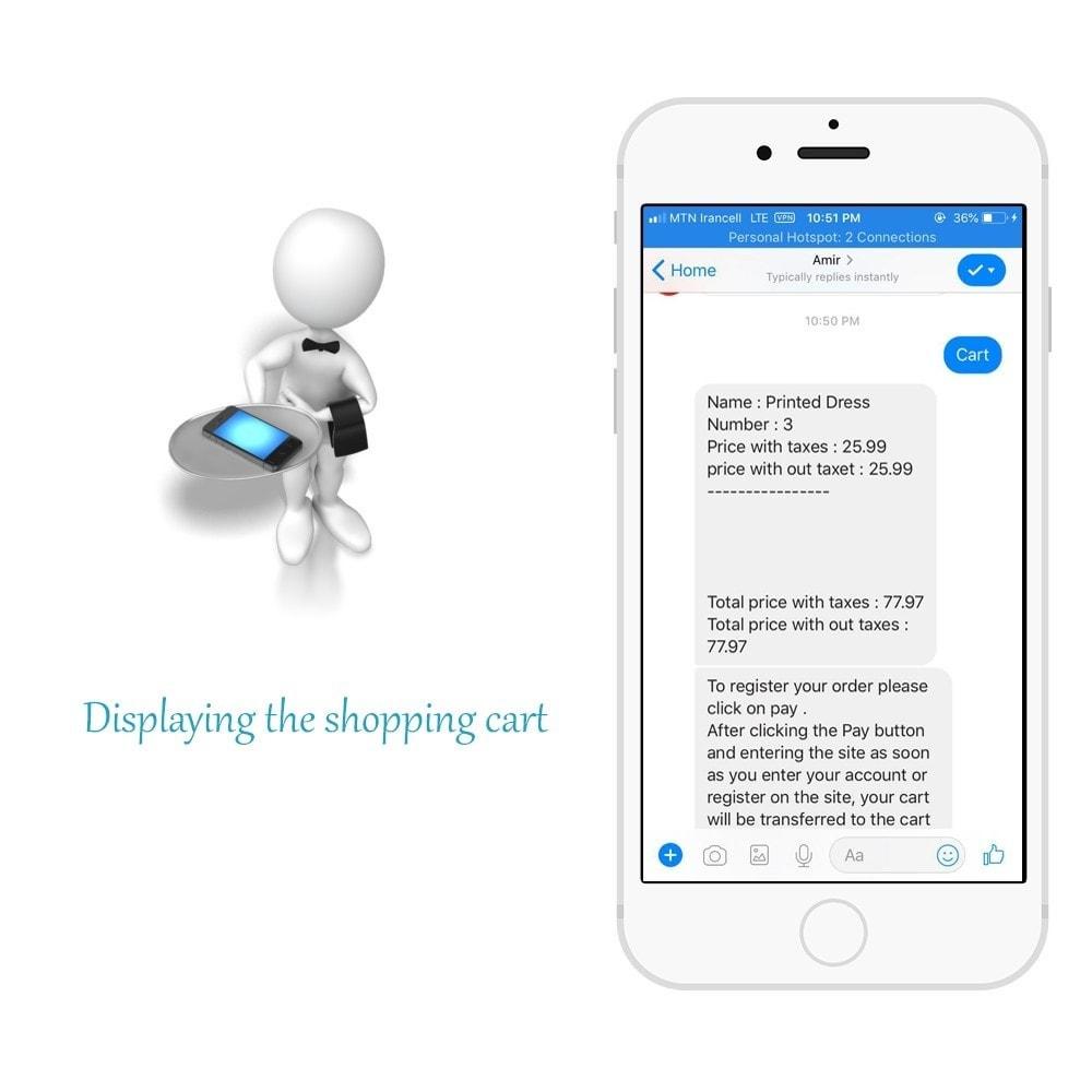 module - Produkte in Facebook & sozialen Netzwerken - Shop for Fan Page and messenger - 5