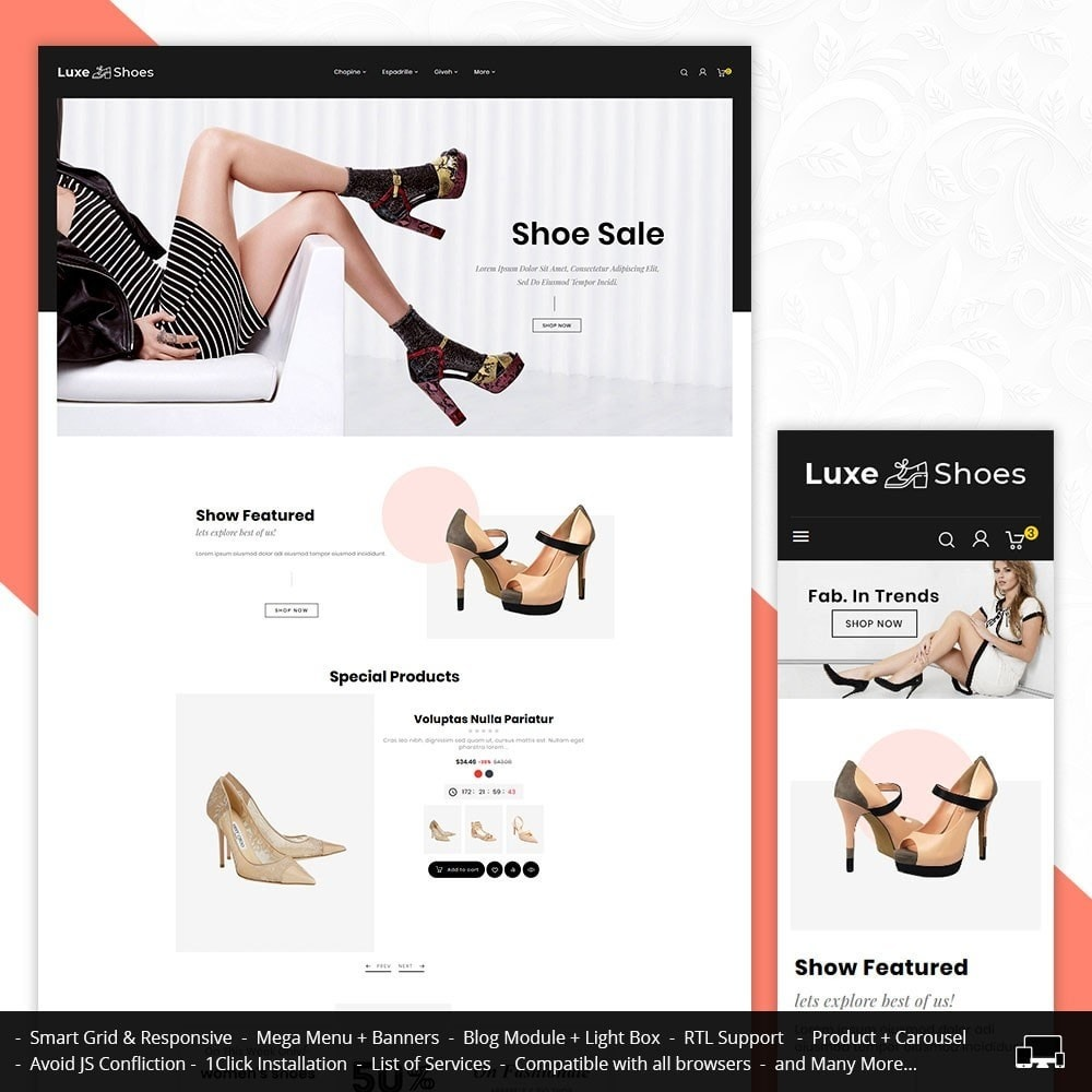 Bravo Luxe Shoes