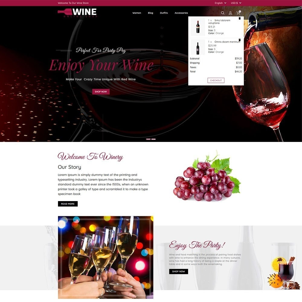 theme - Drank & Tabak - Wine Online Shop - 3