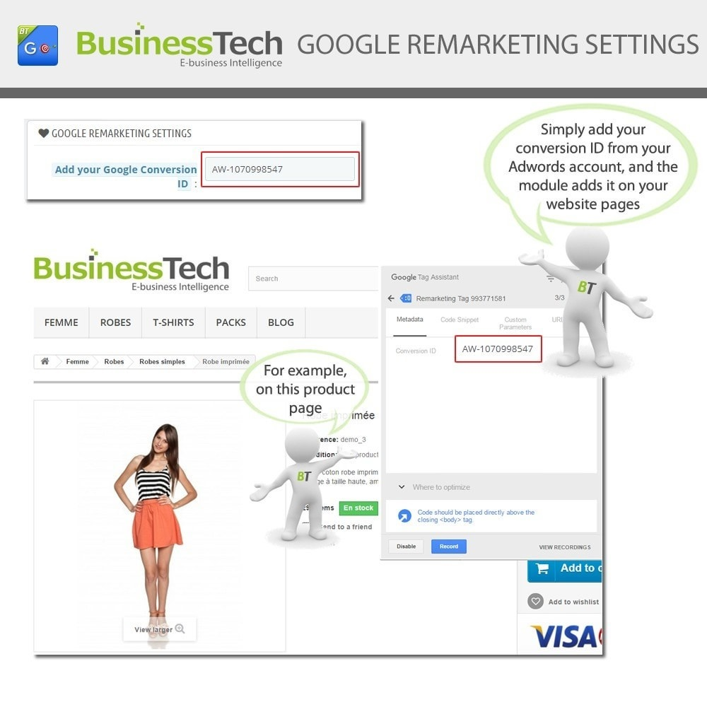 module - Remarketing & Warenkorbabbrüche - Google Dynamic Remarketing - 5