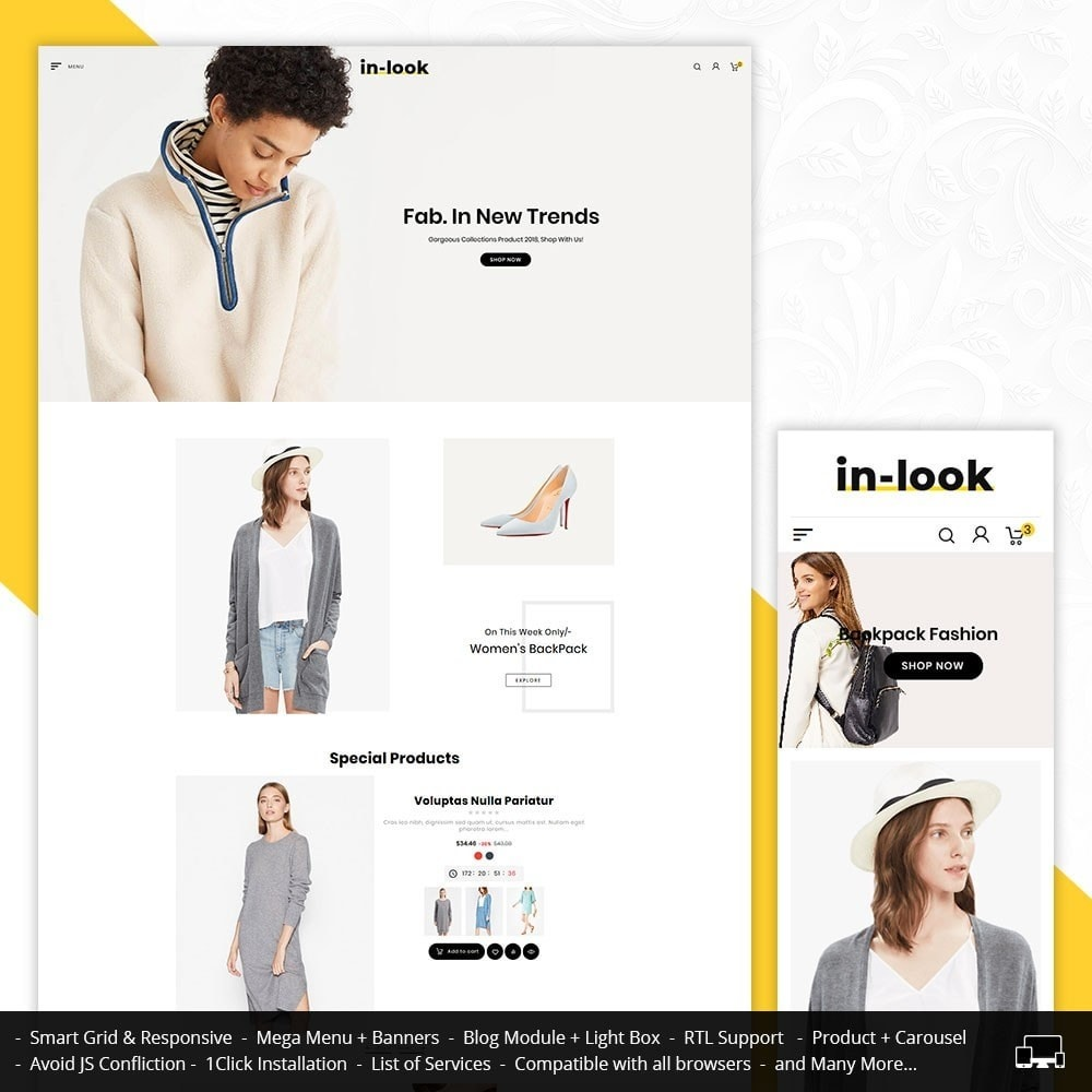 InLook Bravo - Fashion Apparels