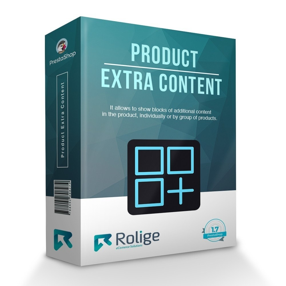 module - Additional Information & Product Tab - Product Extra Content - 1