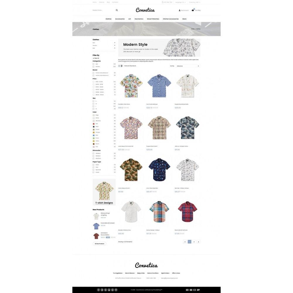 Convetica - Fashion Store