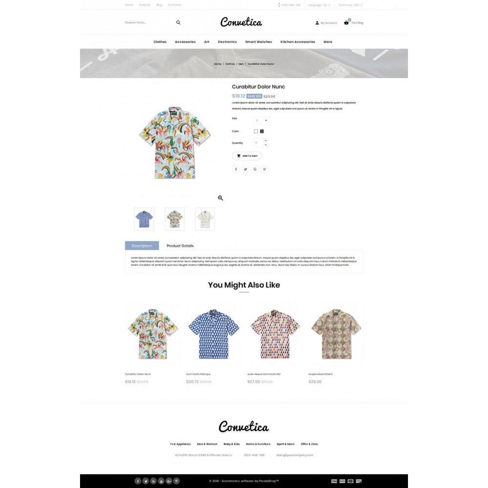 theme - Fashion & Shoes - Convetica - Fashion Store - 4