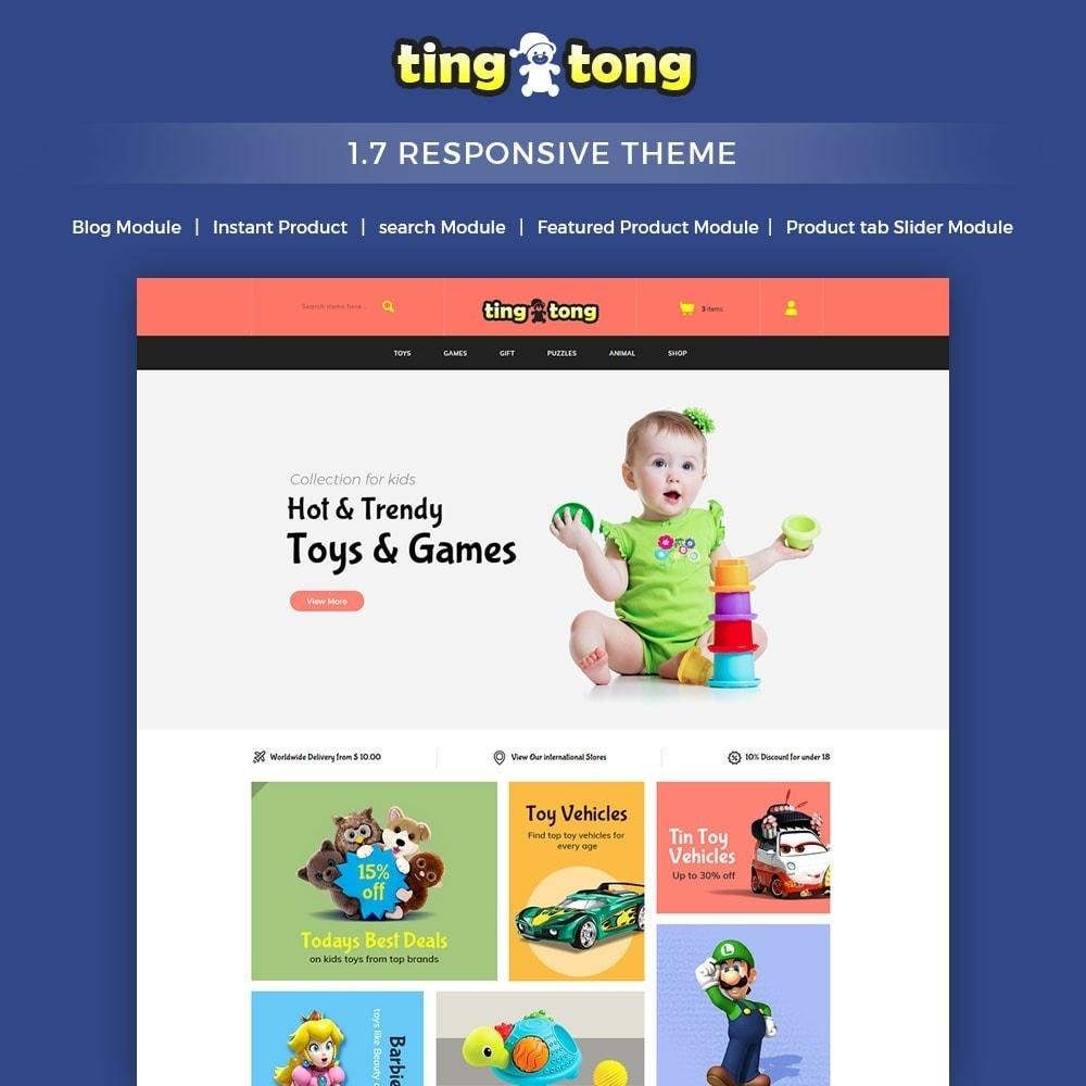 theme - Kids & Toys - Ting Tong - Toys Store - 1