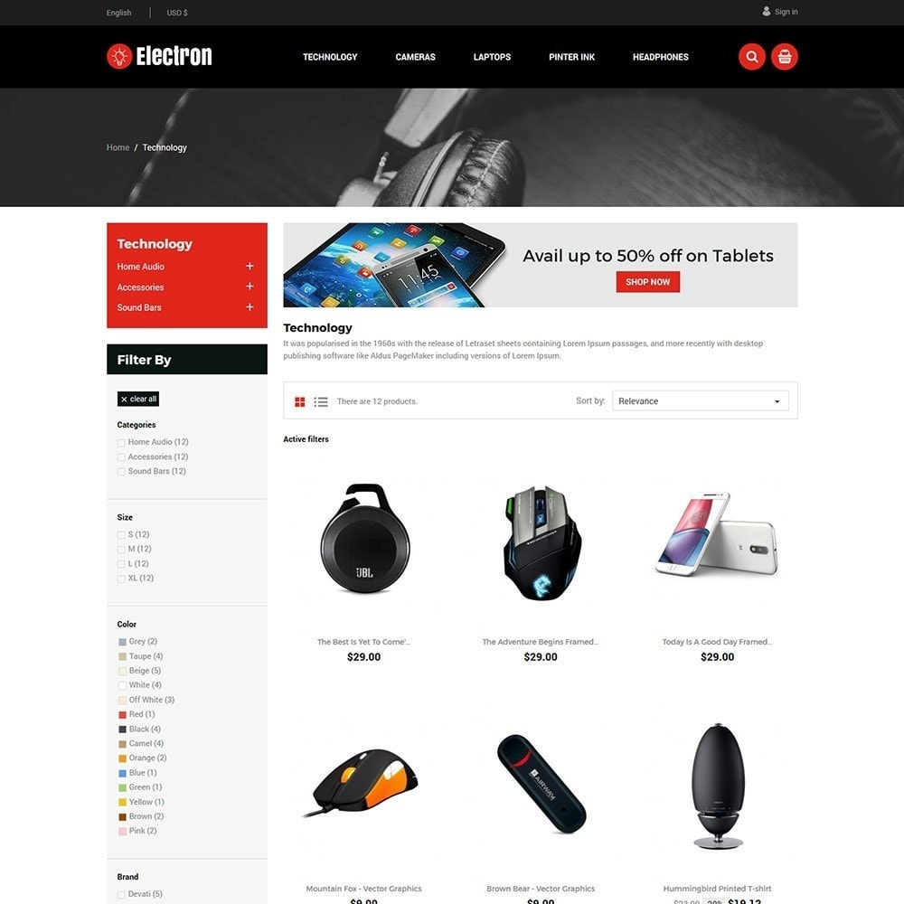 Electron Electronics Store