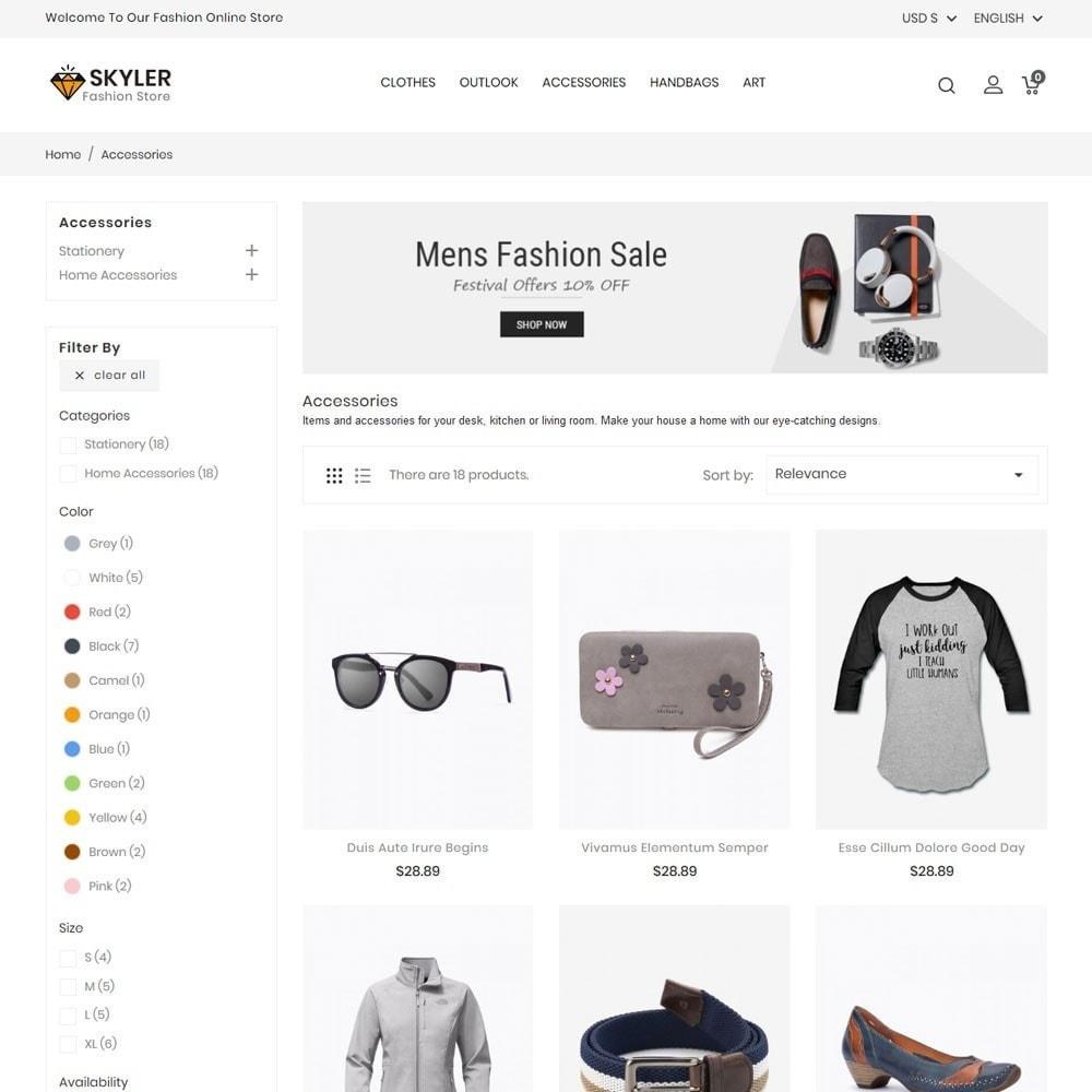 Skyler Fashion Store