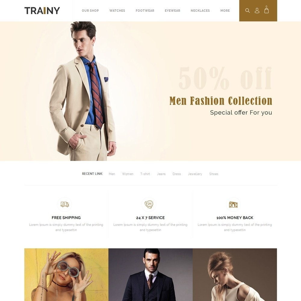 Trainy - The Fashion Store