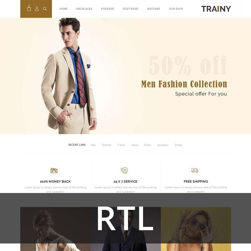 Trainy - The Fashion Store