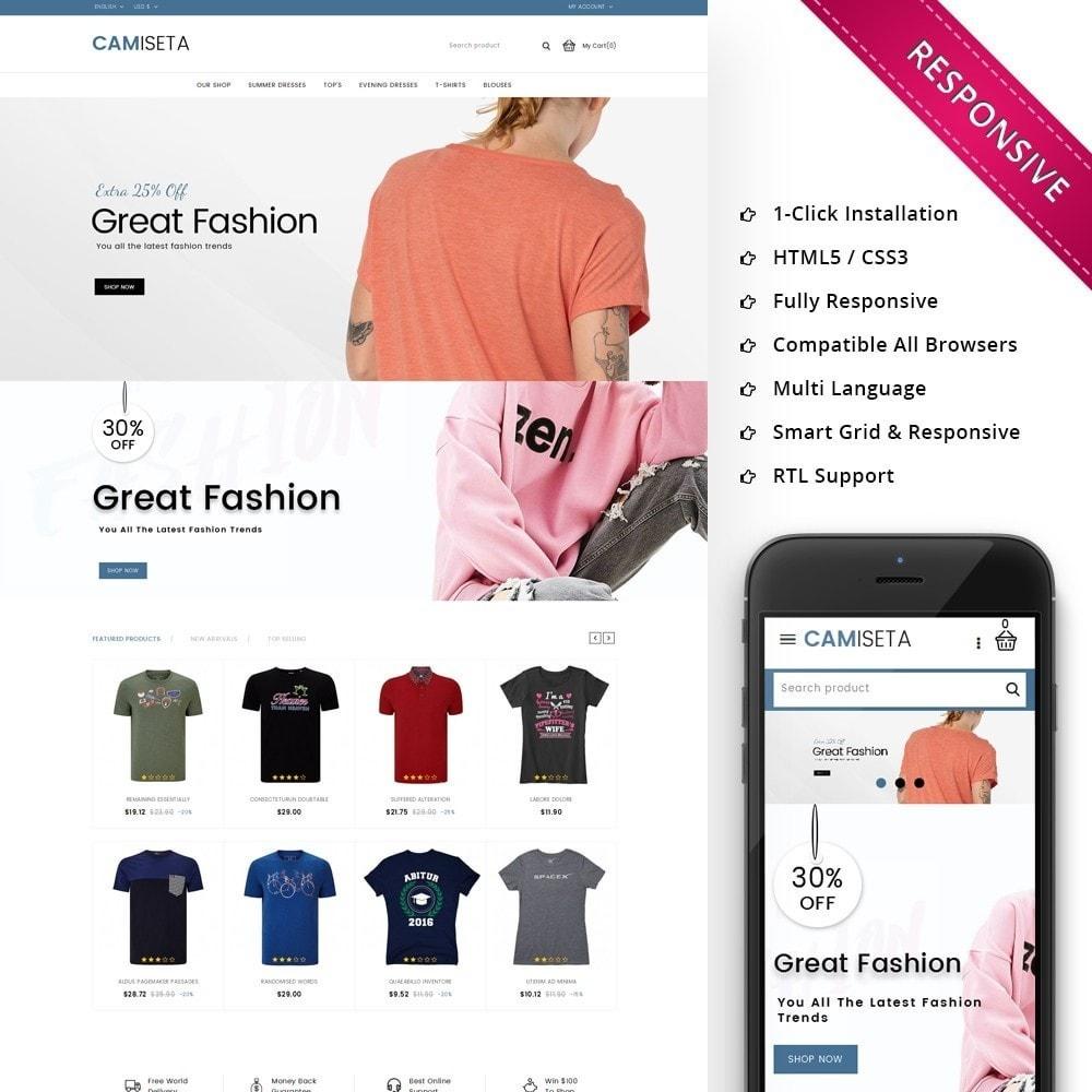 theme - Fashion & Shoes - Camiseta - The Fashion Store - 1