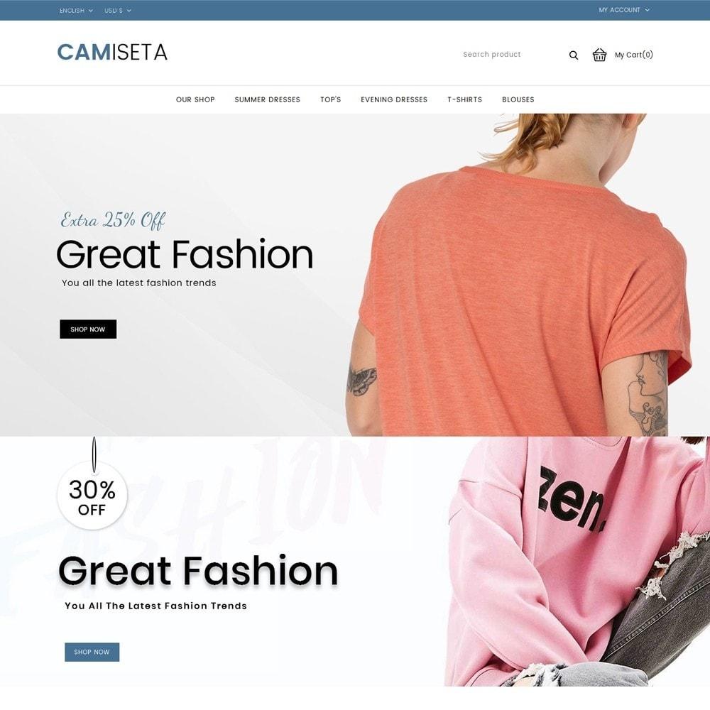 Camiseta - The Fashion Store