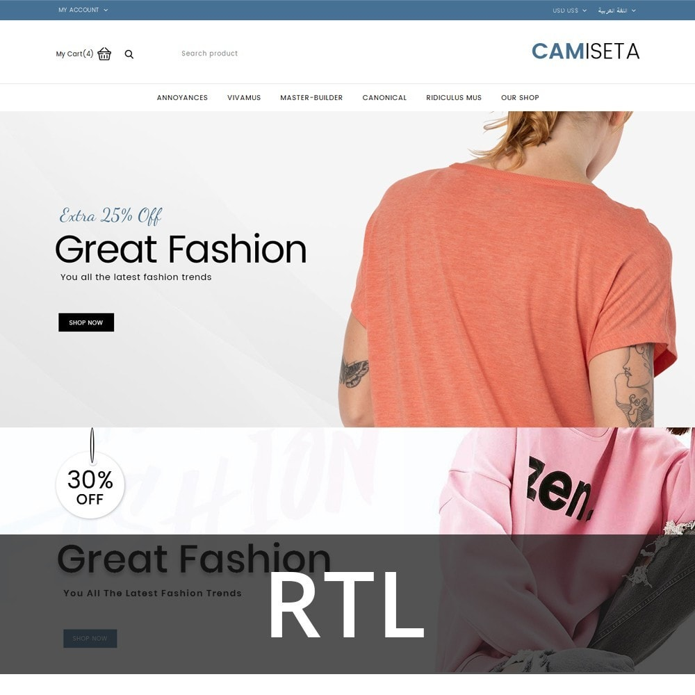 Camiseta - The Fashion Store