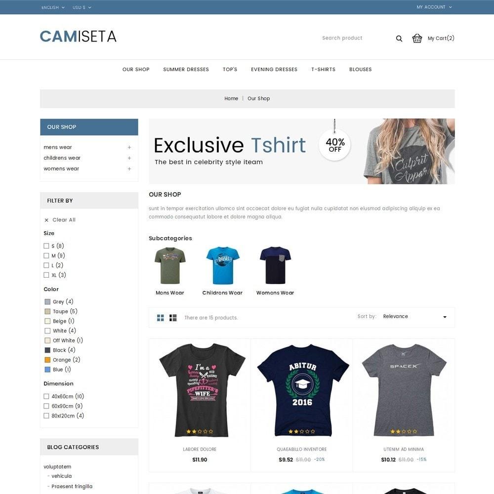 theme - Fashion & Shoes - Camiseta - The Fashion Store - 4