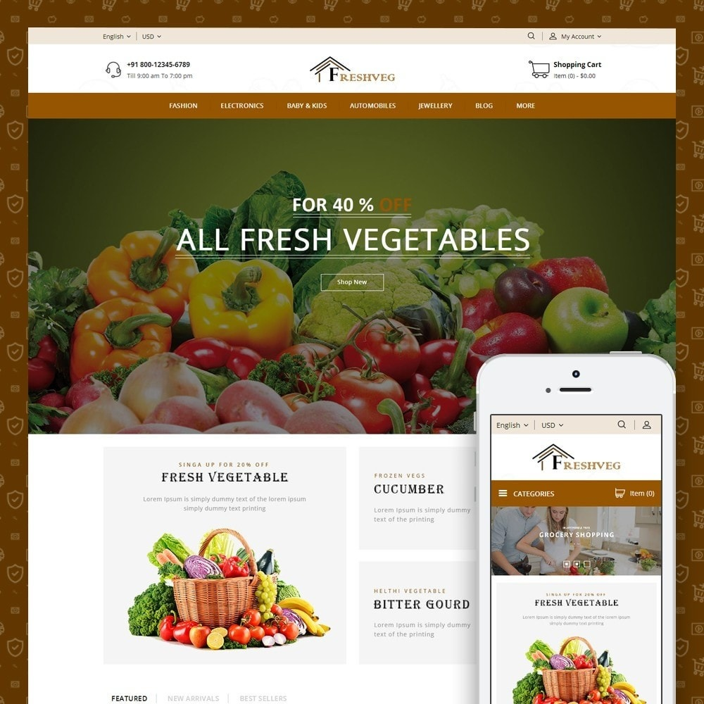 Fresh Vegetable Shop